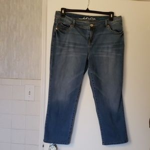 Ladies denim Capris